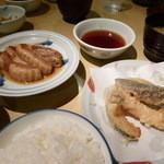天ぷら ふそう - 豚角煮定食 1080円(税込)