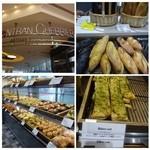 ゴントラン シェリエ - オープン当初の行列もなくなり、個数制限も解除されて自由にパンが買えるようになりました。 今回はカフェ利用です。 かなり広めのカフェが併設されていますね。