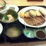 つづみ - 串カツランチ
