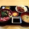 再来 - 料理写真:赤身鉄火丼・鮪フライ