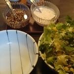 39275142 - サラダ(定食についてきます)