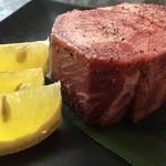 焼肉 牛の華 - タンの塊