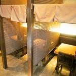 和楽  - 2人掛けテーブル席