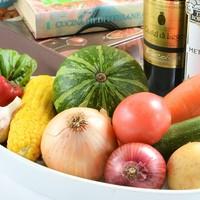 安心安全な有機野菜を使っています♪