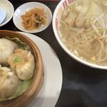 旺仔餃子 - ランチセット ※ライス抜き