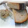 クロキ - 料理写真:全粒粉の自家製パンとポークリエット