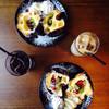 狸穴 Cafe - 料理写真:ポップオーバーとドリンク