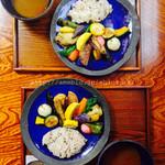 ぬふ・いち - 料理写真:鎌倉野菜のスープカリーセットA