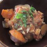 レジュベ - 味噌味ラタトゥユのせ玄米ごはん