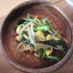 レジュベ - 豆もやしと青菜