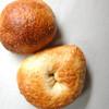 ベーグルカフェニコ - 料理写真:プレーンとサマー