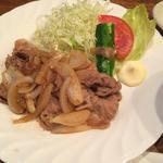 たべるな - たべるな(豚の生姜焼き定食)