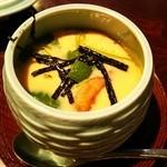 五代目 野田岩 - 鰻とふかのひれ入り茶碗蒸し