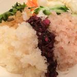 京漬物味わい処 西利 - 京漬物丼(¥864)