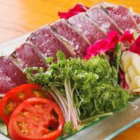 鰹藁焼き/刺身(塩、タレ)