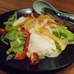 叶家 - 豆腐サラダ