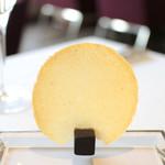 レストラン エテルニテ - コンテチーズのチュイル '15 5月上旬