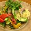 エンゾ パステリア - 料理写真:真アジと夏野菜の冷製フェデリーニ
