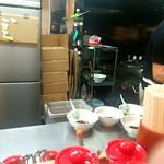 ラーメン 三太 - 移転後厨房