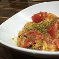 海老とトマトの地中海炒め