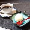 魚もん屋 - 料理写真:2015年3月 ちらし寿司セットのコーヒー、デザート。