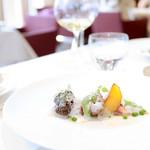 レストラン エテルニテ - フランス産フレッシュモリーユ オマール海老のポッシェ '15 5月上旬