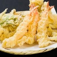 ・天ぷら6種盛