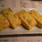 喰しん坊つちや - チーズ・しらす・ネギの玉子焼き