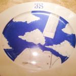 39360640 - 青いお皿が印象的