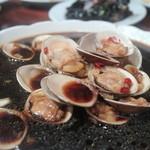 上海小吃 - ハマグリの甘辛炒め