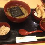 稲にわうどん 割烹 日本橋 古都里 - 2015年6月下旬。