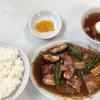 蓮山飯店 - 料理写真:トンポーロ定食770円