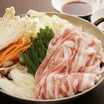 晴海 - 料理写真:SPF豚しゃぶ