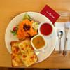 カフェ・ド・ラ・ターシュ - 料理写真:クロックムッシュのランチセット