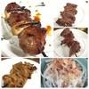 鳥作 - 料理写真:カワ、カシラ、ハツ、スナギモ