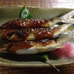 ちわき - 稚鮎の味噌焼き