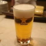 銀座 しまだ - 生ビール
