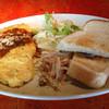 cafe despacio - 料理写真:ふわとろオムレツプレート 和風ソース