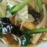 中華料理 豊盛園 - セットは中華飯