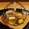高松 - 料理写真:八寸は夏越の大祓の茅の輪♬