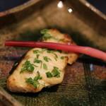 高松 - 焼き物は鱸 木の芽が香り高くて、お肉はふわふわ