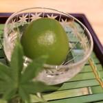高松 - 青梅を蜜で炊いて。さっぱり味でしめます