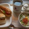 ベーカーズノンノン - 料理写真:モーニングセット(350円)
