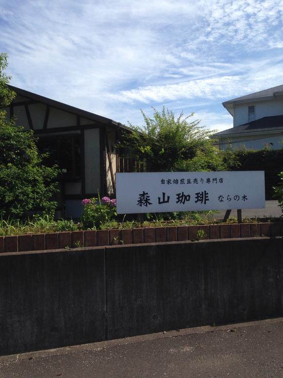 森山珈琲 中津口店