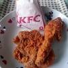 ケンタッキーフライドチキン - 料理写真:2ピース・レッドホットチキンセット