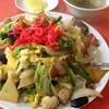 錦華亭 - 料理写真:木須ホイ飯830円 漬物・スープ付き