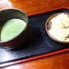 峠の茶屋 一軒屋 - 料理写真:わらび餅抹茶セット