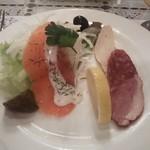 ロシア料理レストラン・バー ニーナ - オードブル盛り合わせ