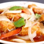 王福 - お肉がヤワラカイ♪人気の酢豚・・・800円