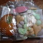 ちえのケーキ 鎌倉由比ガ浜ガーデンカフェ - プレミアムマドレーヌとメレンゲのセット